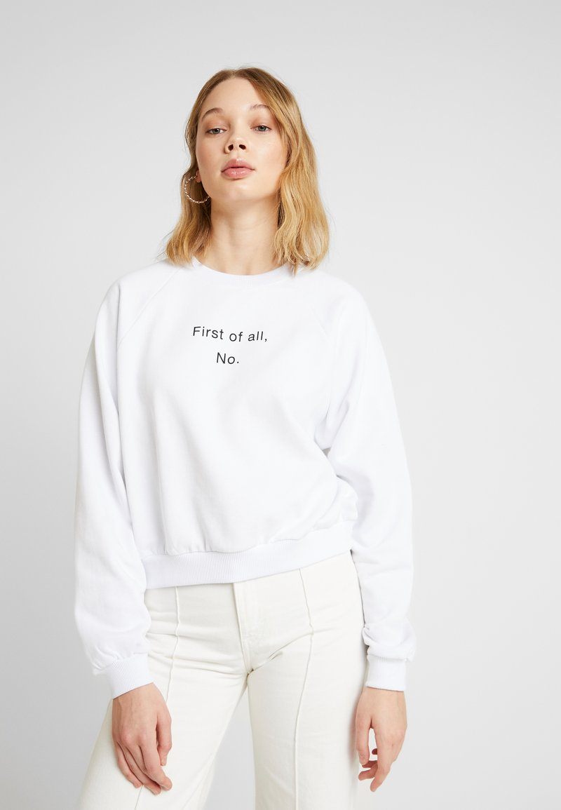 Even&Odd - Sweatshirts - white