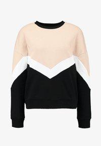 Even&Odd - Sweatshirt - sand/black - 4
