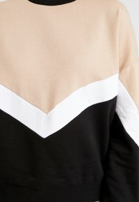 Even&Odd - Sweatshirt - sand/black - 5