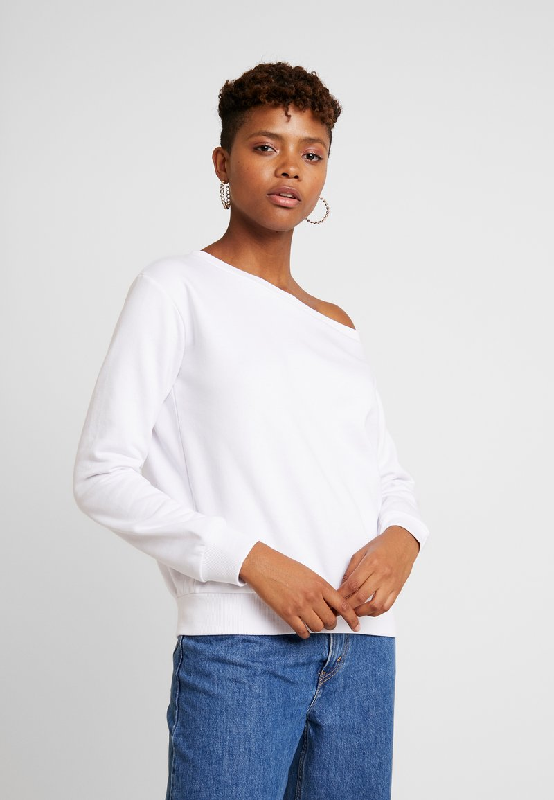 Even&Odd - BASIC - Sweater - white