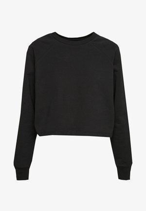 BASIC - Cropped - Sweatshirt - black