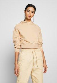 Even&Odd - Jersey con capucha - sand - 0