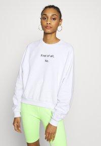 Even&Odd - Sweatshirt - white - 0