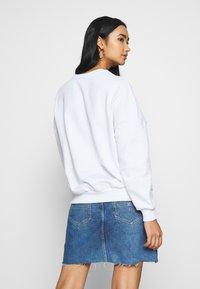 Even&Odd - Printed Crew Neck - Sweatshirt - white - 2