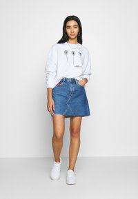 Even&Odd - Printed Crew Neck - Sweatshirt - white - 1
