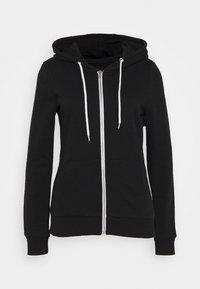 Even&Odd - Zip-up hoodie - black - 4