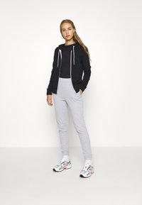 Even&Odd - Zip-up hoodie - black - 1