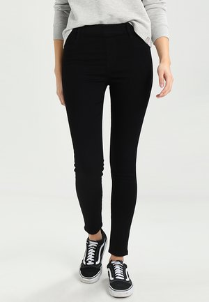Farkkuleggingsit - black denim