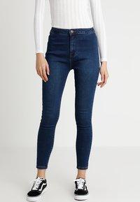 Even&Odd - Jeansy Skinny Fit - dark blue - 0