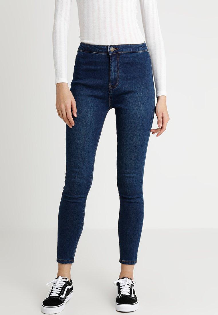 Even&Odd - Jeansy Skinny Fit - dark blue