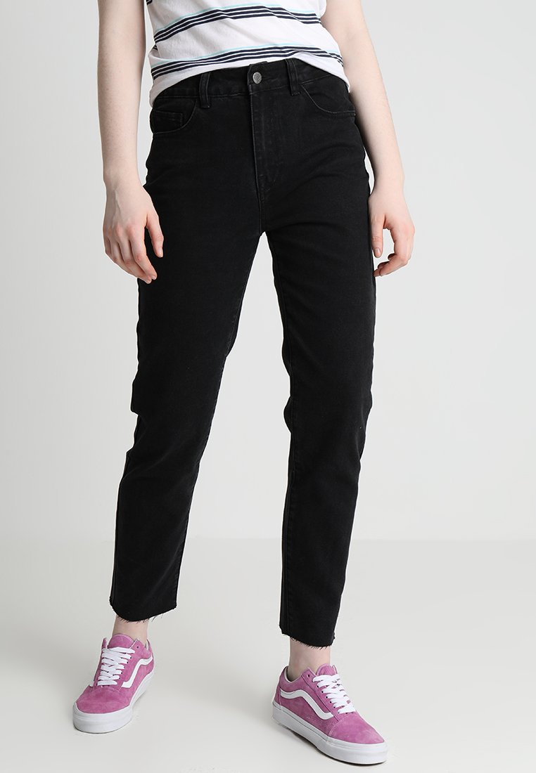 Even&Odd - Jeans Straight Leg - black
