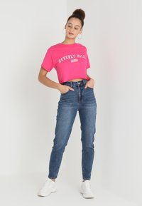 Even&Odd - Jeansy Relaxed Fit - blue - 1