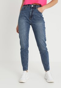 Even&Odd - Jeansy Relaxed Fit - blue - 0