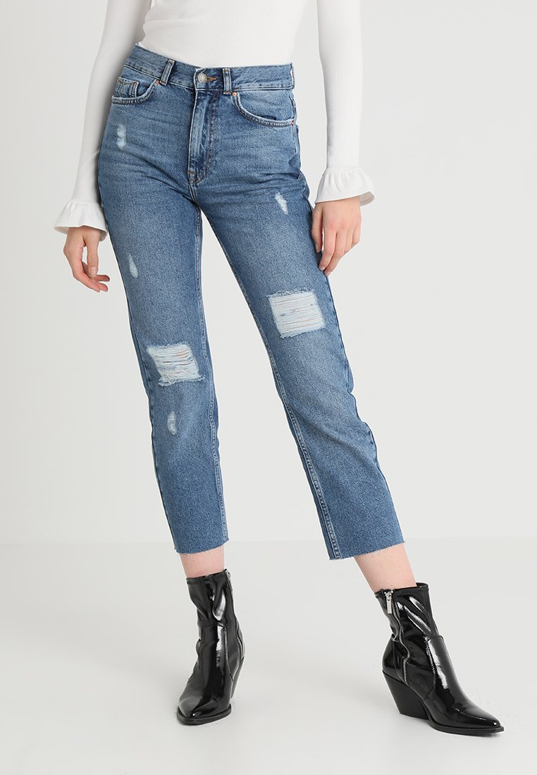 Even&Odd - Relaxed fit jeans - light blue denim