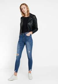 Even&Odd - Jeans Skinny - dark blue - 1