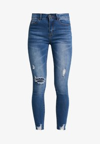 Even&Odd - Jeans Skinny Fit - dark blue - 4