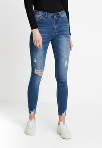Even&Odd - Jeans Skinny - dark blue - 0
