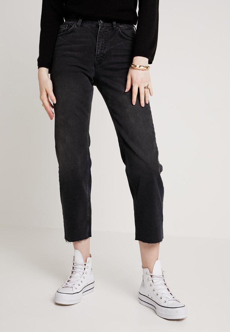 Even&Odd - Jeans Straight Leg - black denim