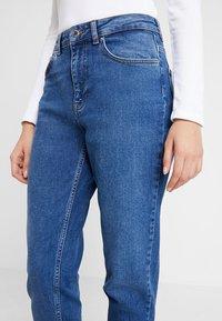 Even&Odd - Straight leg jeans - blue denim - 4