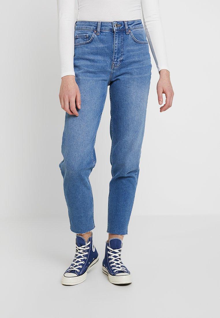Even&Odd - Straight leg -farkut - mid blue denim