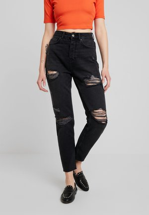 Jeans relaxed fit - black denim