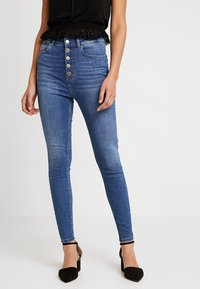 Even&Odd - Jeans Skinny Fit - mid blue denim - 0