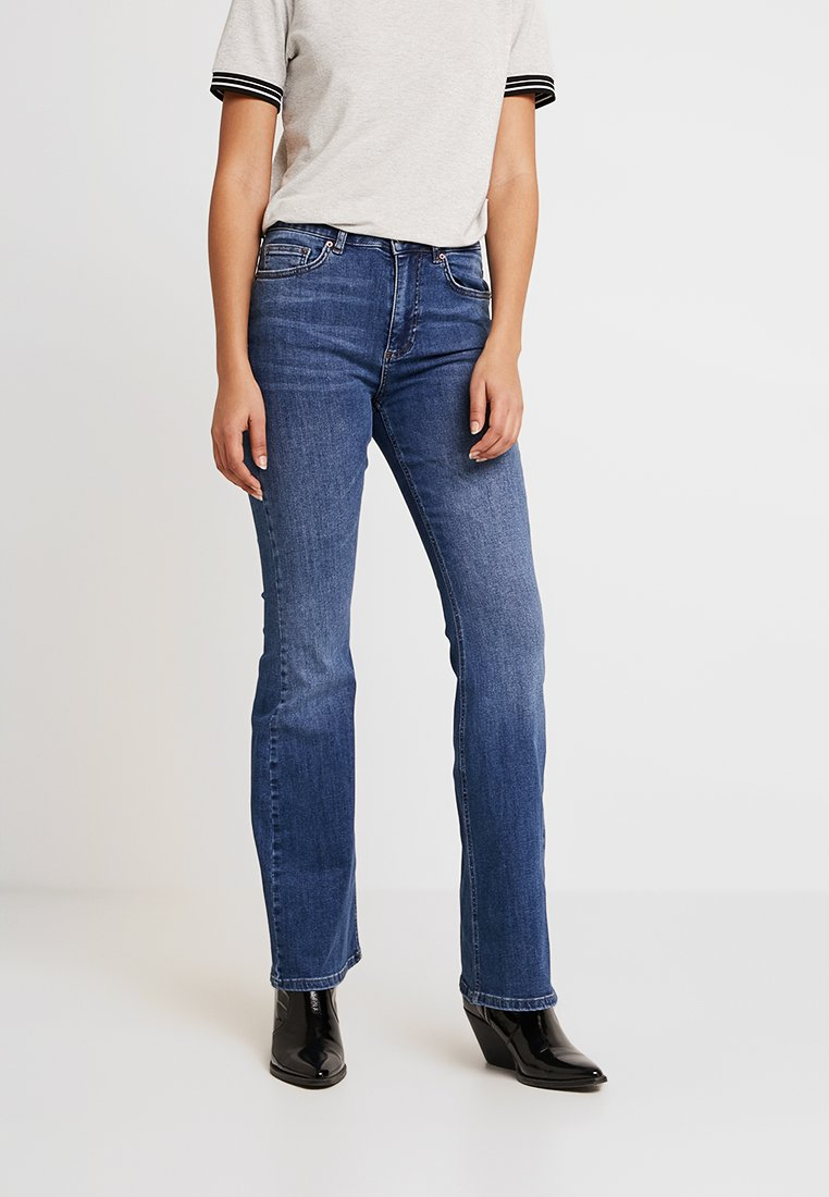 Even&Odd - Jeans Bootcut - mid blue denim