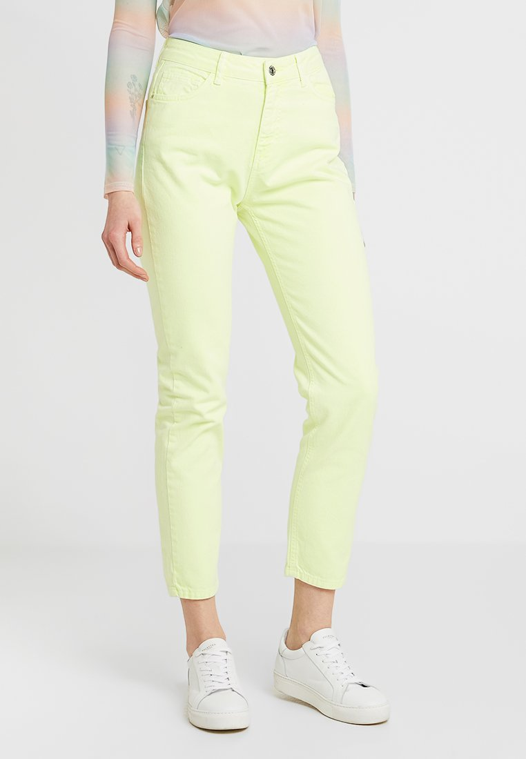 Even&Odd - Straight leg jeans - lime as per swatch