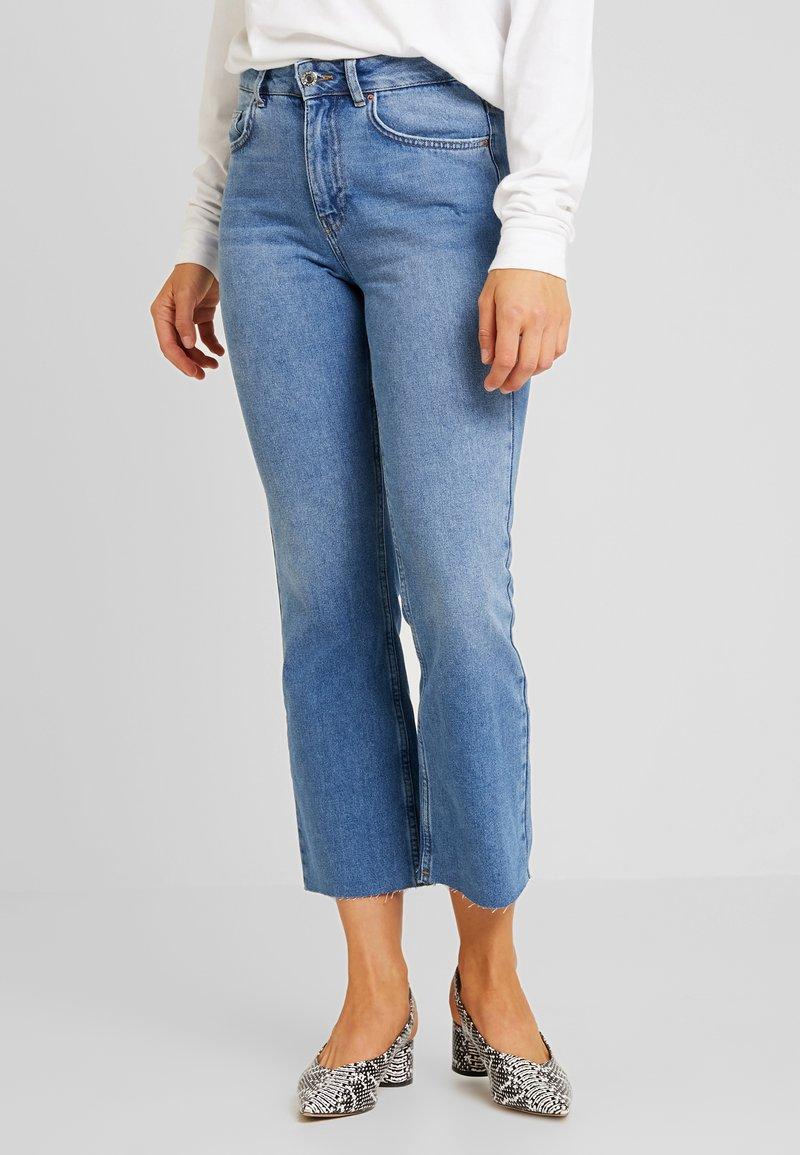 Even&Odd - Flared Jeans - light blue