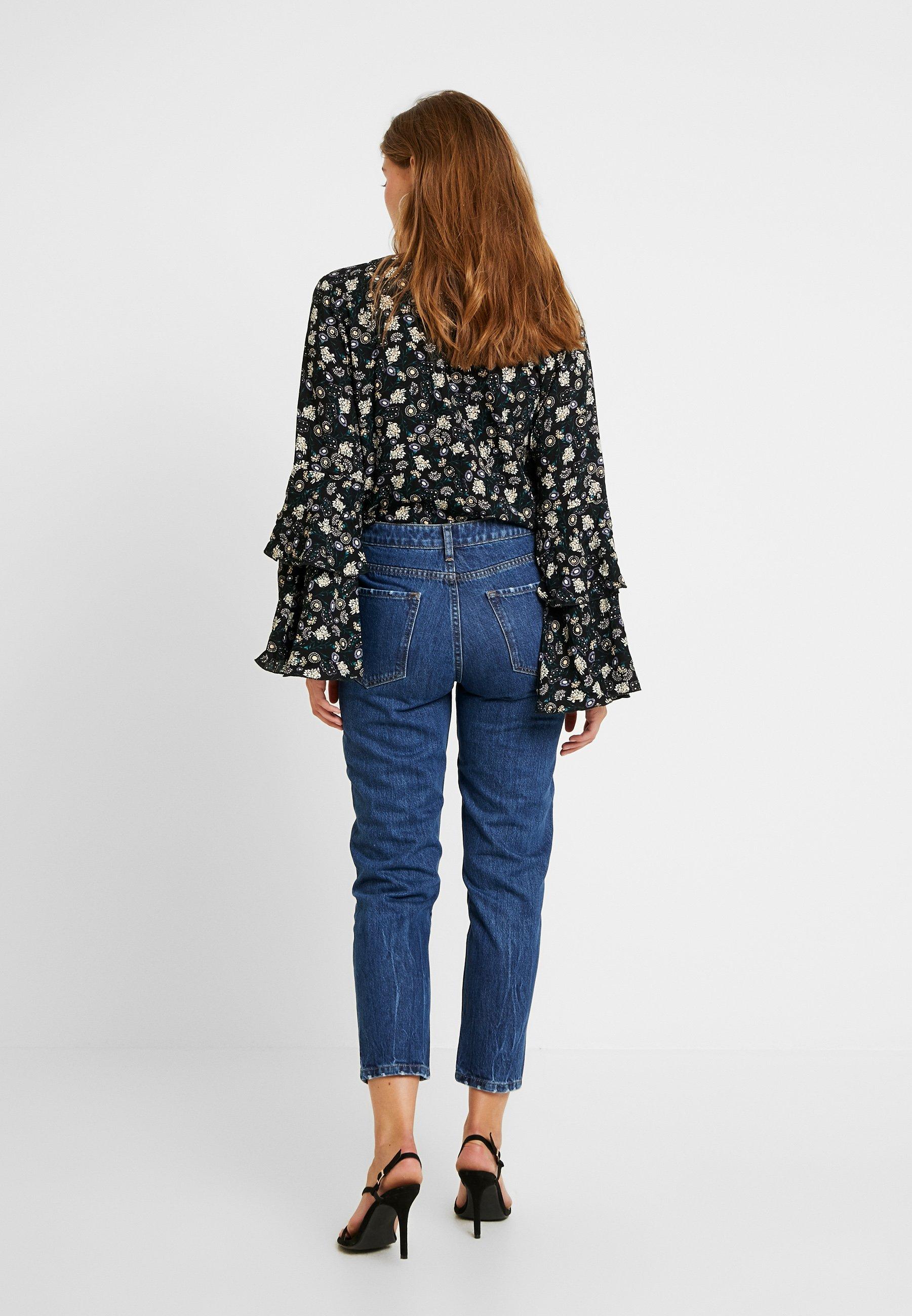 Even&Odd Jeans baggy dark blue denim