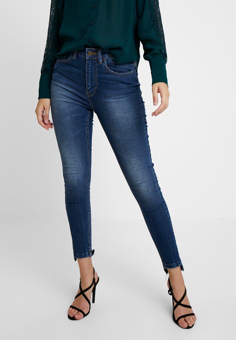 Even&Odd - Jeans Skinny - dark blue denim