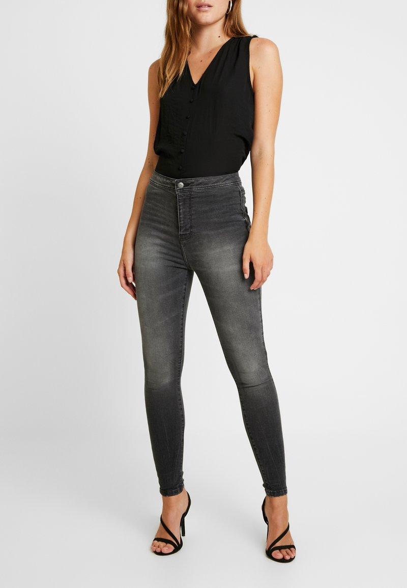 Even&Odd - Jeans Skinny Fit - washed black