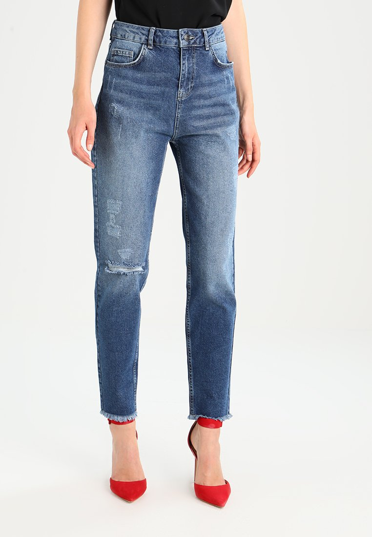 Even&Odd - Relaxed fit jeans - blue denim