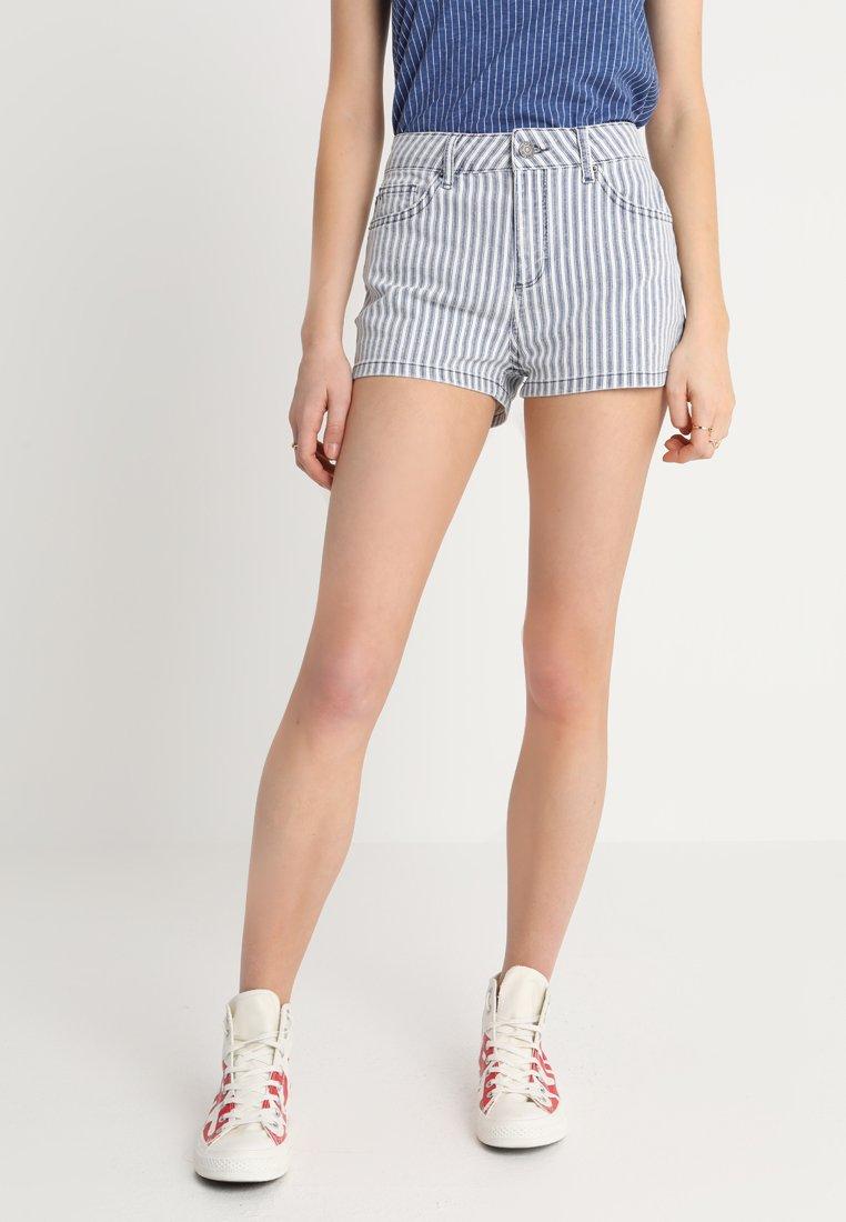 Even&Odd - Jeans Shorts - blue