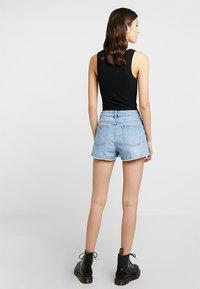 Even&Odd - Denim shorts - blue denim - 2