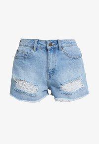 Even&Odd - Denim shorts - blue denim - 4