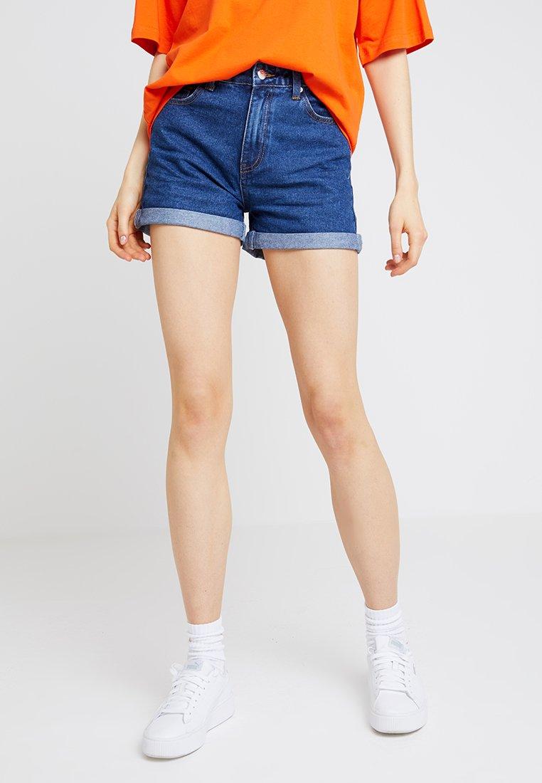 Even&Odd - Jeans Shorts - mid blue denim