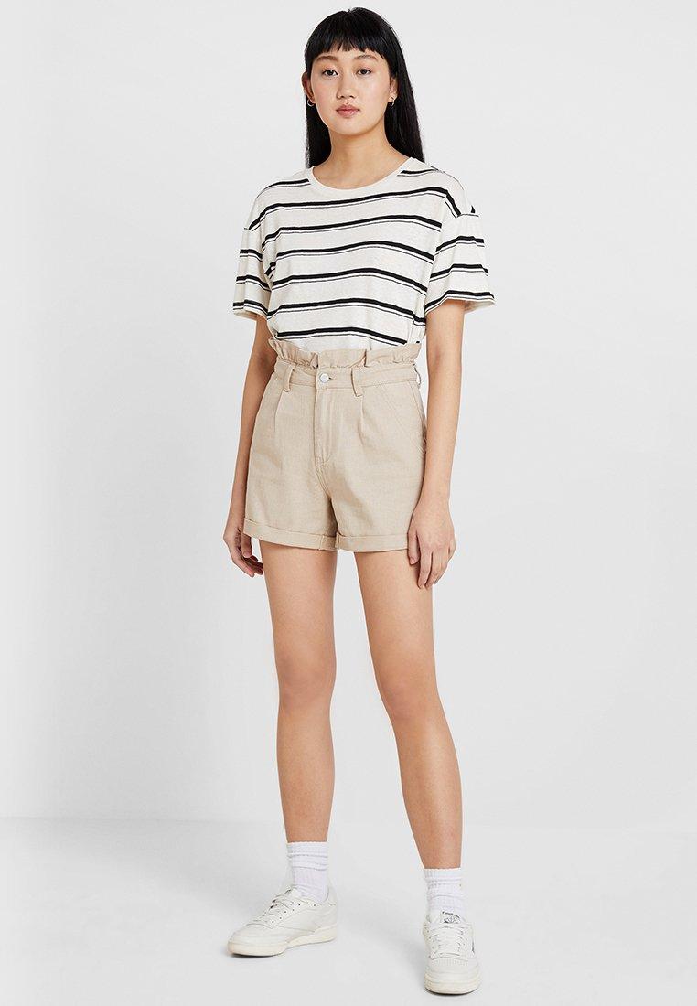 Even&Odd - Shorts - stone