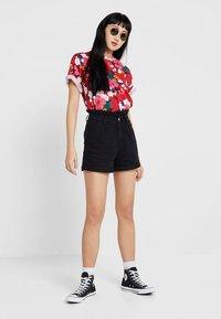 Even&Odd - Shorts - black denim - 1