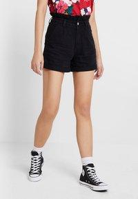 Even&Odd - Shorts - black denim - 0