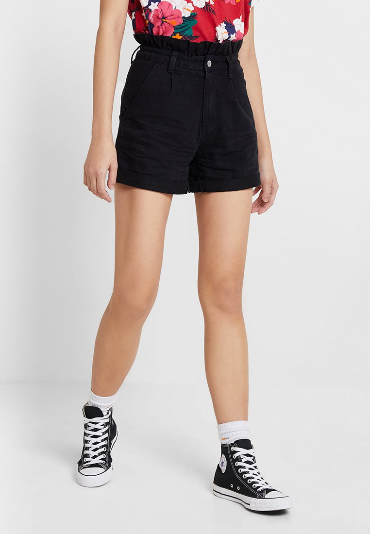 Even&Odd - Shorts - black denim
