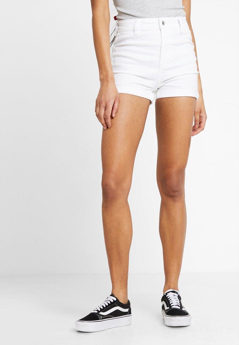 Even&Odd - Denim shorts - white