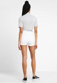 Even&Odd - Denim shorts - white - 2