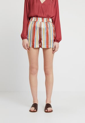 Shorts - blue/red/nude