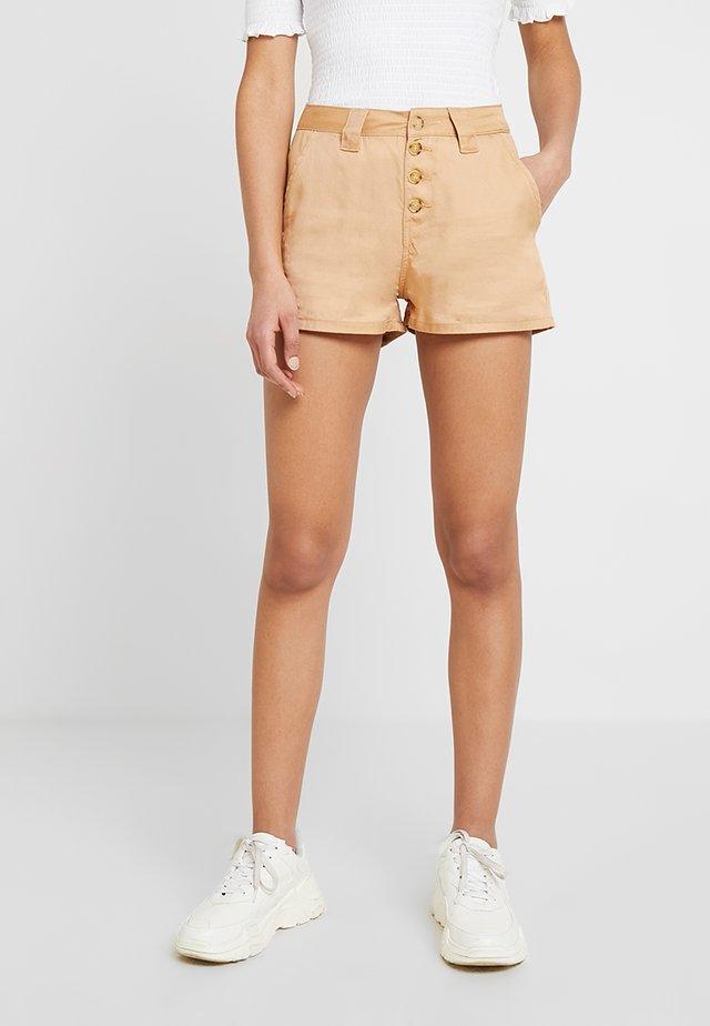 Szorty jeansowe -  tan