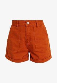Even&Odd - Denim shorts - light brown - 4