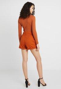 Even&Odd - Denim shorts - light brown - 2