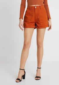 Even&Odd - Denim shorts - light brown - 0