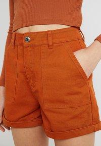 Even&Odd - Denim shorts - light brown - 3