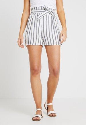 Shorts - white blue